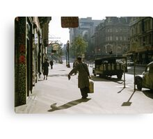 Collins Street Milkman 19580102 0000 Canvas Print