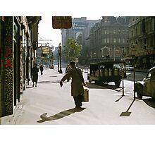 Collins Street Milkman 19580102 0000 Photographic Print