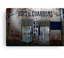 Coke Shed Canvas Print
