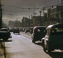 1963 Victoria Street Abbotsford 5 pm. by Fred Mitchell