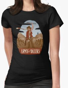 Army of Daleks Womens Fitted T-Shirt