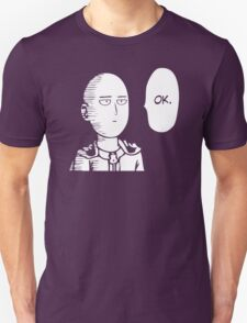 one punch man ok T-Shirt