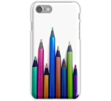 Colorful pencils  iPhone Case/Skin