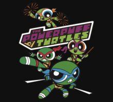 The Powerpuff Turtles Kids Tee