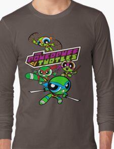 The Powerpuff Turtles Long Sleeve T-Shirt