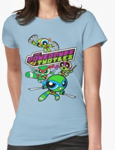 The Powerpuff Turtles Womens Fitted T-Shirt