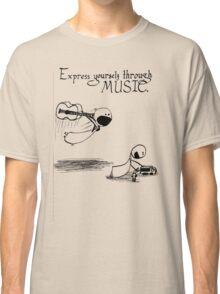 Express Yourself Through Music Classic T-Shirt