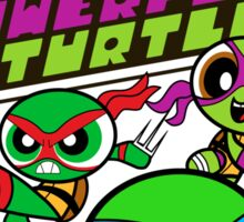 The Powerpuff Turtles Sticker