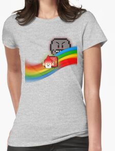 NyanGnome Womens Fitted T-Shirt