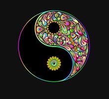 Yin Yang Symbol Psychedelic Art Design T-Shirt