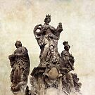 Statue on Charles bridge, Prague by Nicklas81