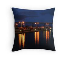 San Remo jetty Throw Pillow
