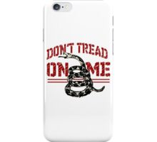Don't Tread On Me 2 iPhone Case/Skin