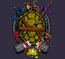 Turtle Family Crest - Full Color T-Shirt