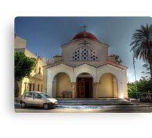 Church of Constandinos and Eleni  Canvas Print