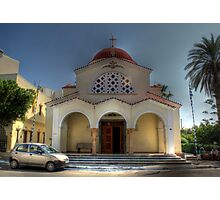 Church of Constandinos and Eleni  Photographic Print