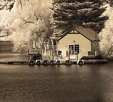 Lake House in IR by John Conway