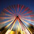 Ferris Fireworks by AlMiller