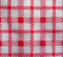 closeup pattern texture of general traditional textile style native from fabric  Sticker