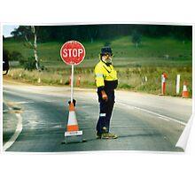 Roadworks Poster