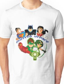 cheeked heroes Unisex T-Shirt