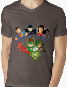 cheeked heroes Mens V-Neck T-Shirt