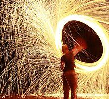 Spinning light by Anthony Milnes