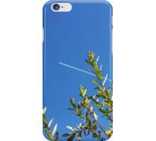 clear sky iPhone Case/Skin