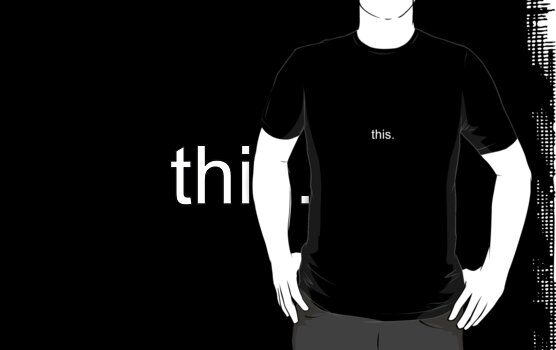 this. teeshirt by kalitarios