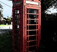The Old Phone Box by Woolfe