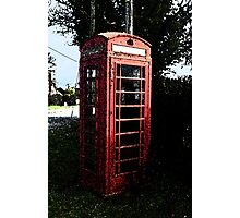 The Old Phone Box Photographic Print