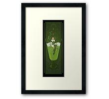 Art Nouveau Absinthe Poster Framed Print