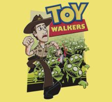 Toy Walkers (color) Kids Tee