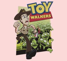 Toy Walkers (color) One Piece - Long Sleeve