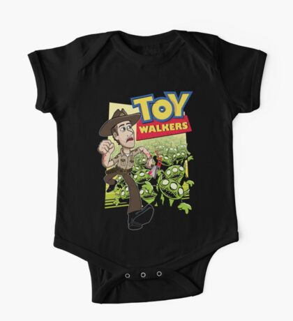 Toy Walkers (color) One Piece - Short Sleeve