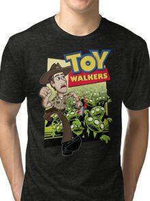 Toy Walkers (color) Tri-blend T-Shirt