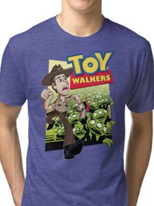 Toy Walkers (color) Tri-blend T-Shirt