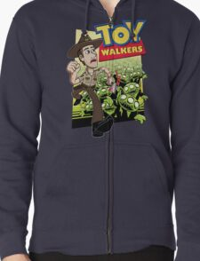 Toy Walkers (color) Zipped Hoodie