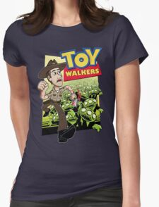 Toy Walkers (color) Womens T-Shirt