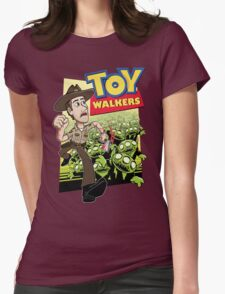 Toy Walkers (color) Womens Fitted T-Shirt