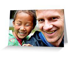 Tibetan Kid Greeting Card