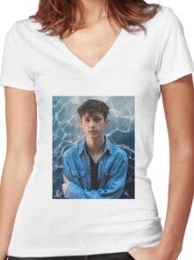 Troye Sivan - Deep Sea Neighbourhood Women's Fitted V-Neck T-Shirt