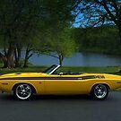 1970 Dodge Challenger RT Convertible by TeeMack
