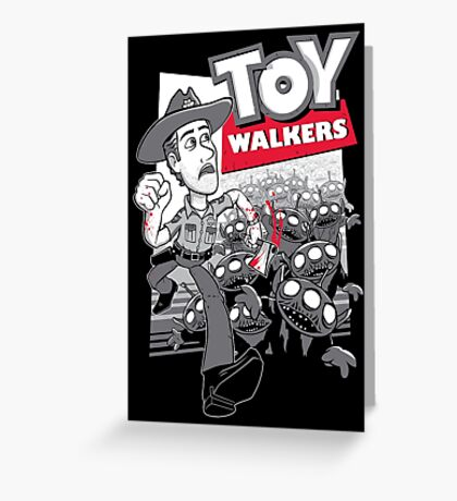 Toy Walkers Greeting Card