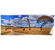Take me Home Country Roads - Somewhere Near Oberon (Second Cut)- The HDR Experience Poster