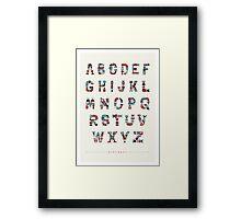 Alphabot Framed Print