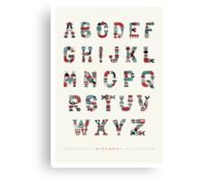 Alphabot Canvas Print
