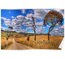 Take me Home Country Roads - Somewhere Near Oberon - The HDR Experience Poster