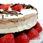 Triple Choc Cheesecake by LifeisDelicious