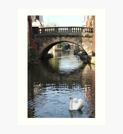 Newbury Bridge Art Print